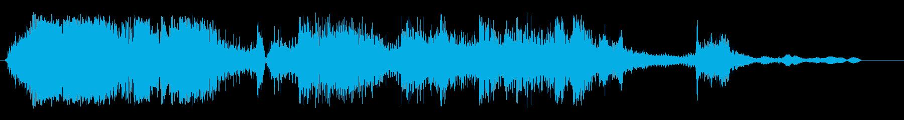 ガチャーンガンガラガン(物が壊れ散乱)の再生済みの波形