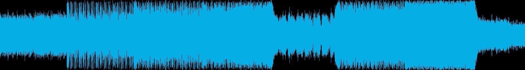 ヘヴィロック 感情的 説明的 静か...の再生済みの波形