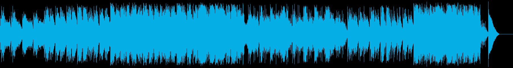 暖かく神秘的な西洋サウンドの再生済みの波形