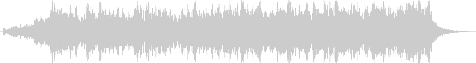 感動シネマティックエピックオーケストラfの未再生の波形