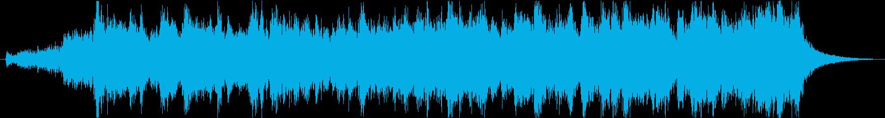 感動シネマティックエピックオーケストラfの再生済みの波形