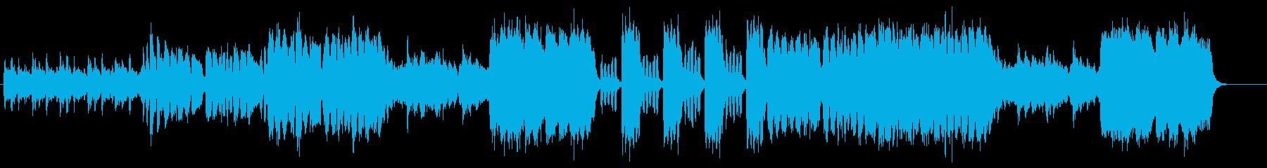 ダークなオーケストレーション・サウンドの再生済みの波形