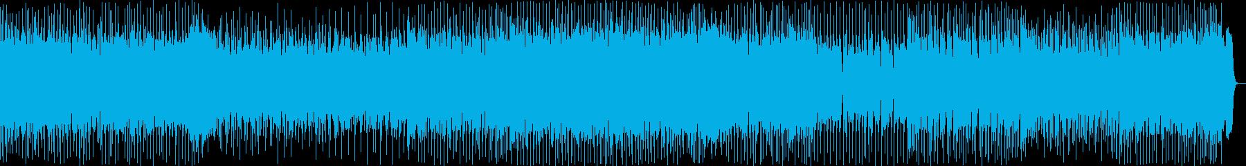 元気いっぱいワクワクするテクノの再生済みの波形