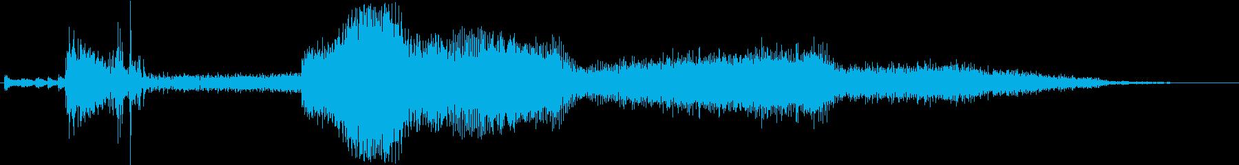 シボレーカマロ:Ext:スタート、...の再生済みの波形