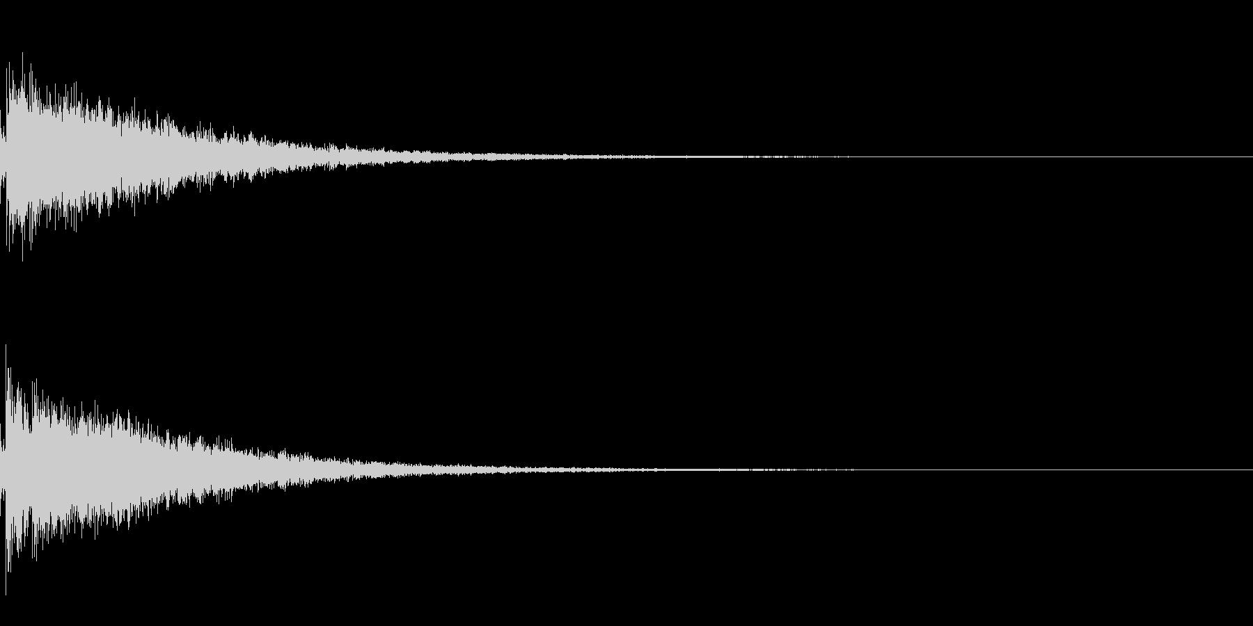 Alchemy 錬金術師の杖の音の未再生の波形