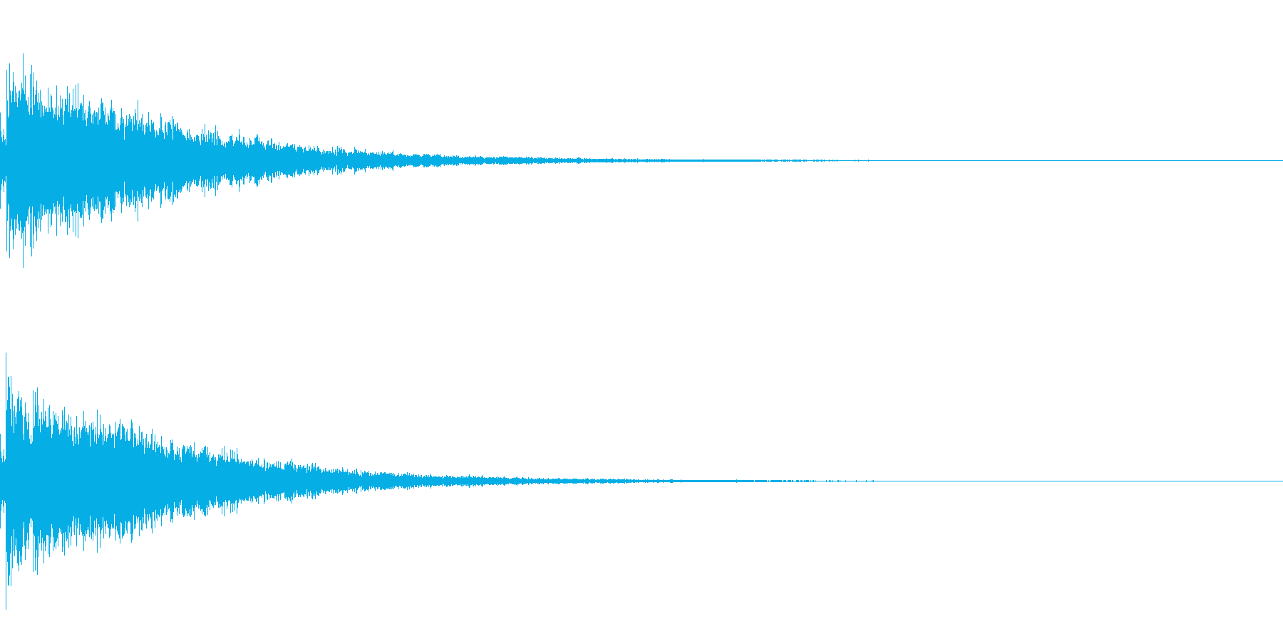 Alchemy 錬金術師の杖の音の再生済みの波形