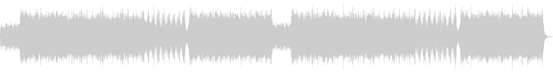 迫力あるシネマティック系オーケストラの未再生の波形