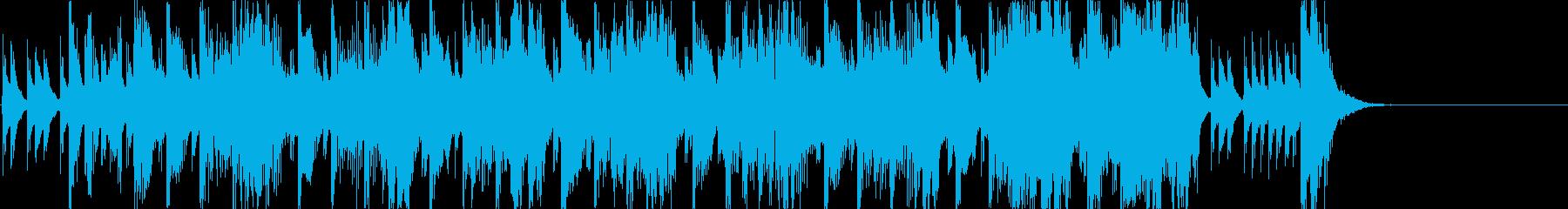 和風、ゲーム煽りBGM、子供用/掛声有りの再生済みの波形