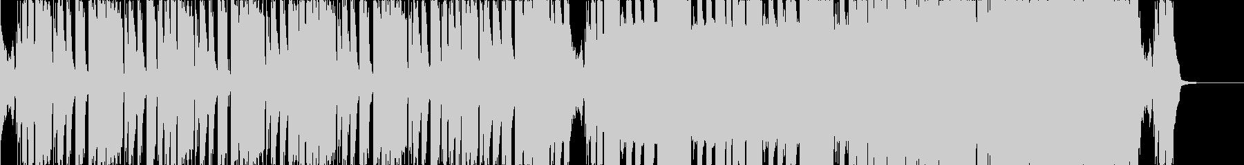 短めなメタルステップの未再生の波形