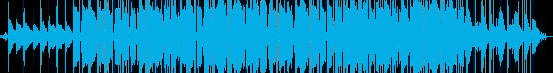 ジャズ、ヒップホップ、ラウンジの再生済みの波形
