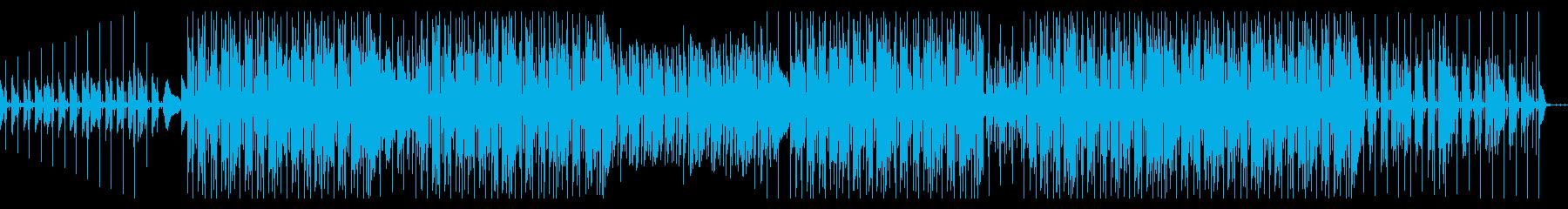 おしゃれでレトロなHIPHOP BGMの再生済みの波形