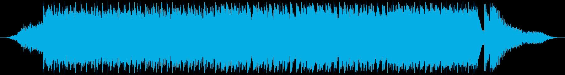 未来的で攻撃的なトラック-30秒の再生済みの波形