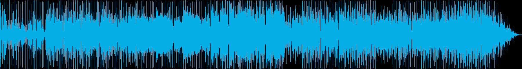 電子。みじん切りで反復的なシンセ、...の再生済みの波形