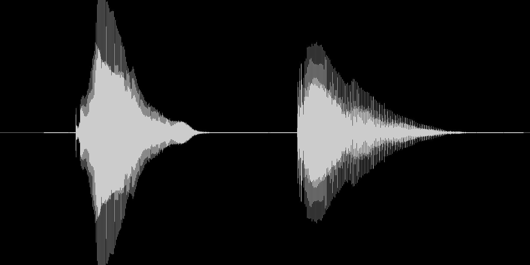 K.O.(ケイオー)の未再生の波形