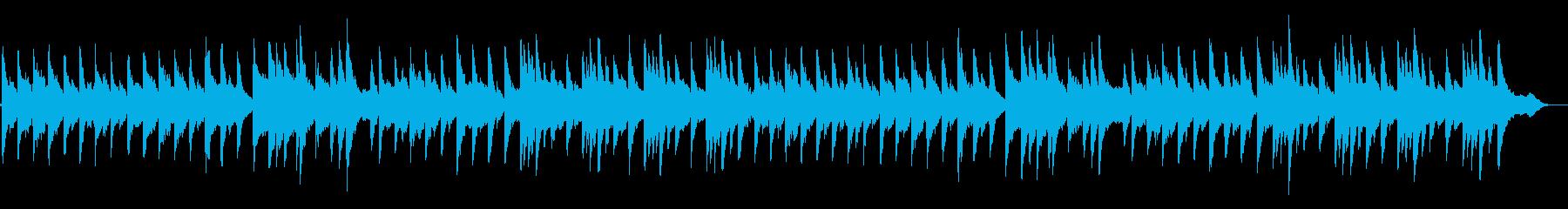 オーボエとピアノの眠りリラックス子守唄の再生済みの波形