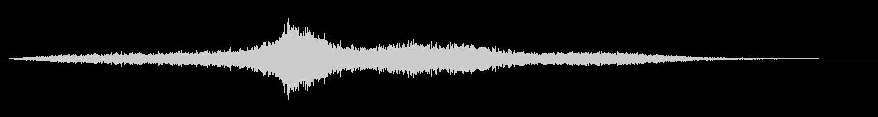 【生録音】 早朝の街 交通 環境音 11の未再生の波形