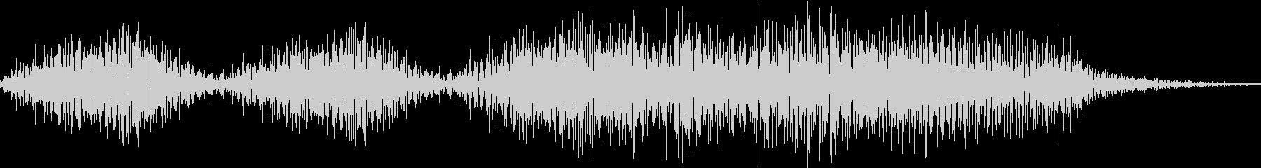 成功音の未再生の波形