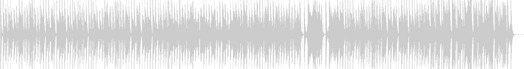 コロコロした雰囲気のほのぼの可愛いBGMの未再生の波形