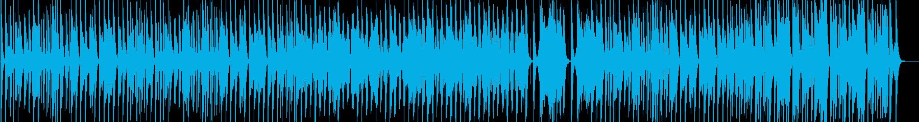 コロコロした雰囲気のほのぼの可愛いBGMの再生済みの波形