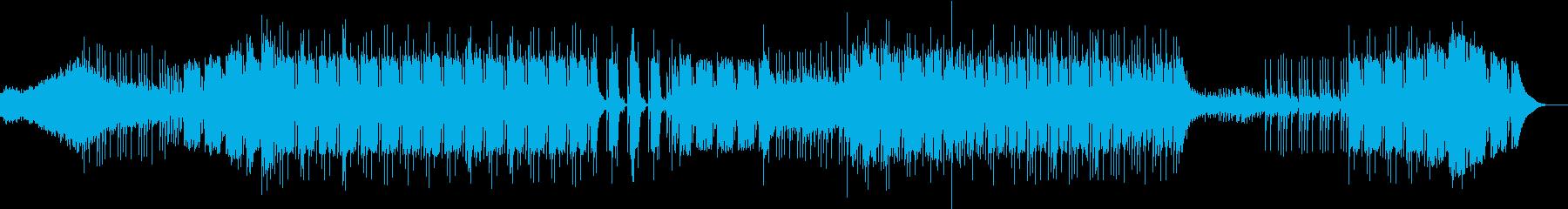 ベースが特徴の映像音楽の再生済みの波形
