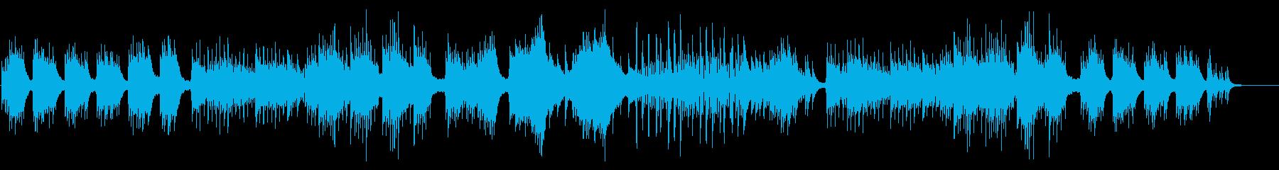 風格クリエイティブなピアノソロ企業CM等の再生済みの波形
