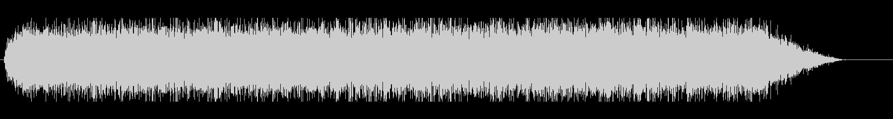 ウィーーン(電動ドライバーの音)3の未再生の波形