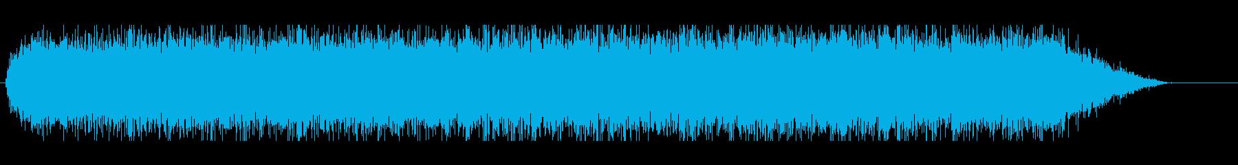 ウィーーン(電動ドライバーの音)3の再生済みの波形