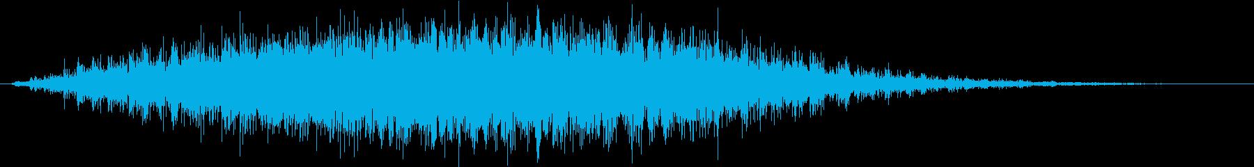 パンニング電子アークの再生済みの波形
