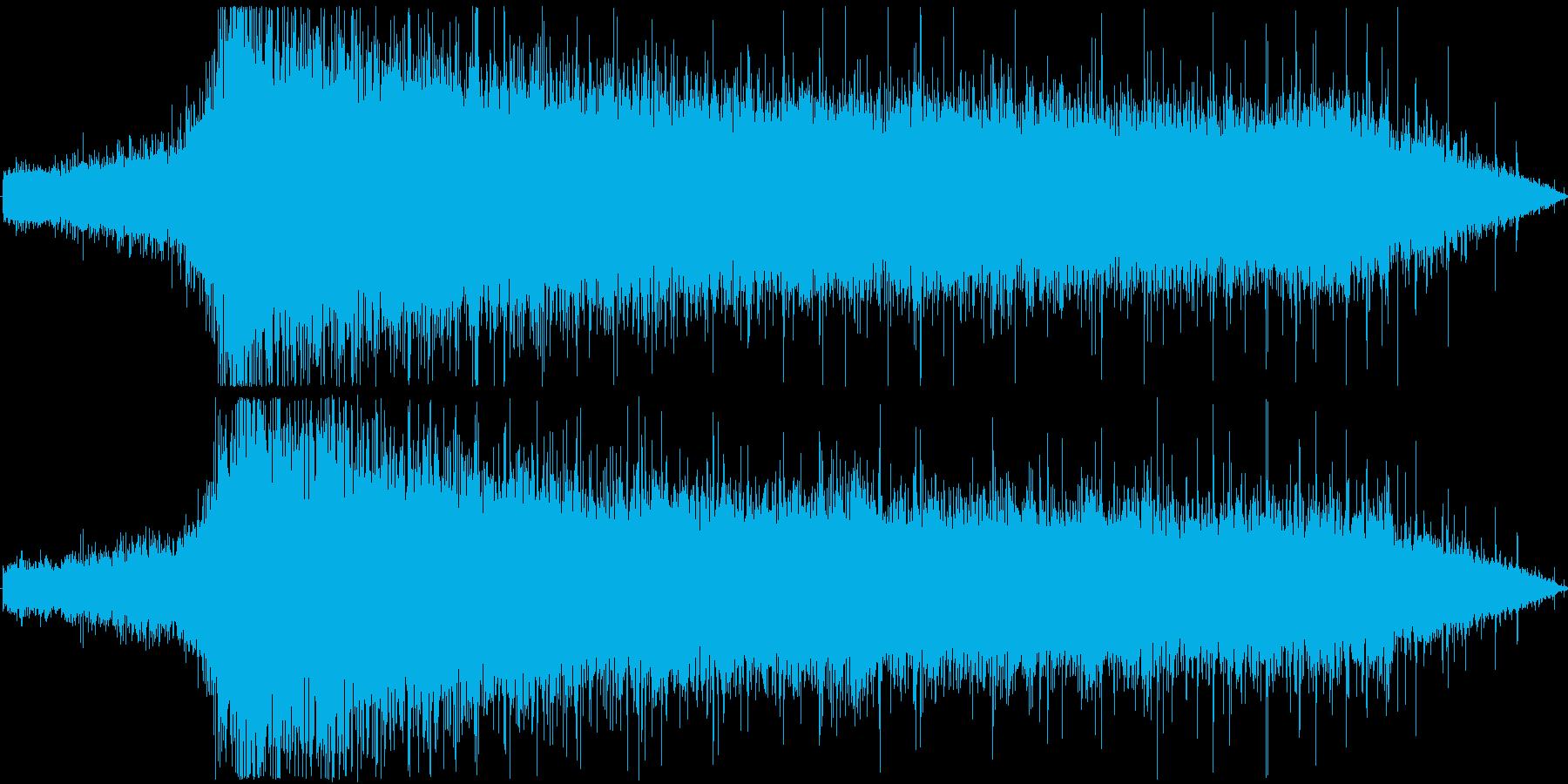 【拍手/大喝采/パチパチ/ワー】の再生済みの波形
