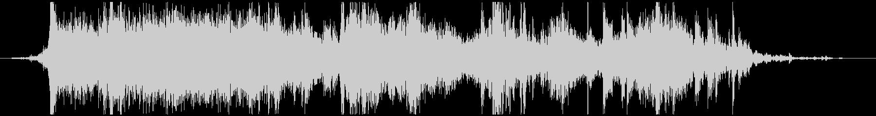 メタル ラウドミディアム02の未再生の波形