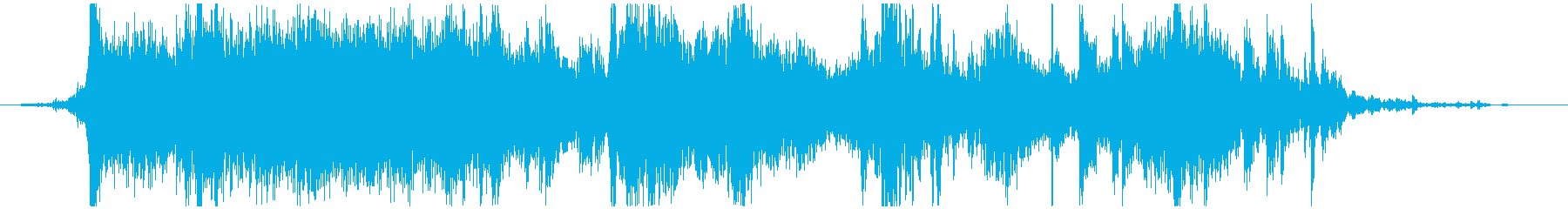 メタル ラウドミディアム02の再生済みの波形