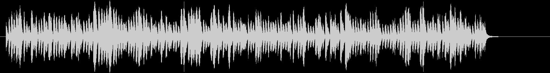 研究施設にて機械が作動している音の未再生の波形