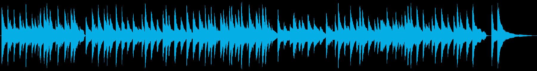 ピアノソロの正統派なラウンジミュージックの再生済みの波形