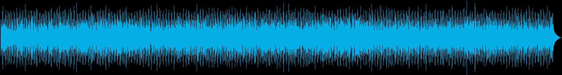 超速いジャズサンバの再生済みの波形