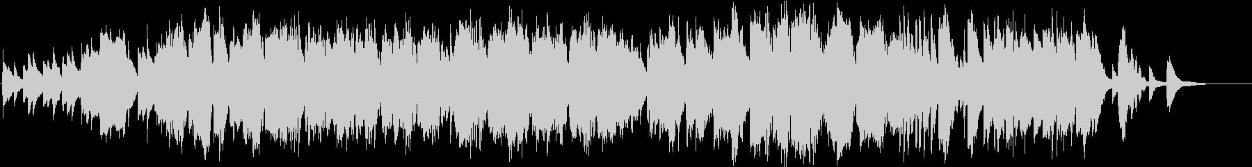 笛とピアノによるアンビエントな小曲の未再生の波形