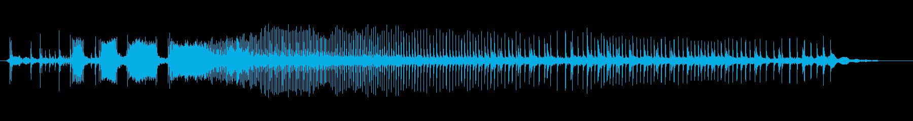 ワードローブ、開いた、長い、非常に...の再生済みの波形