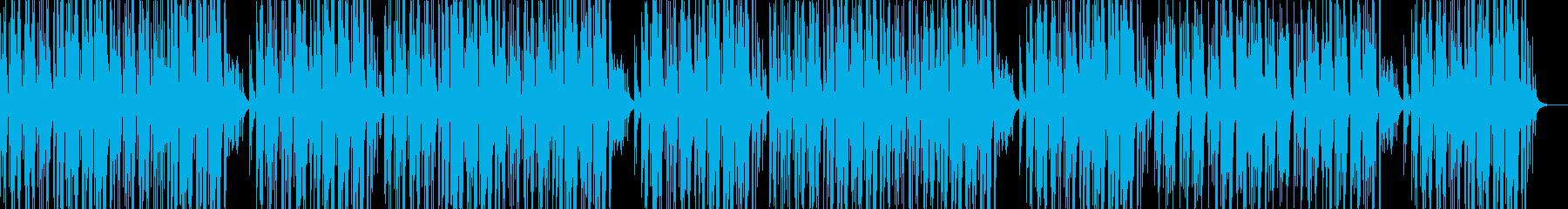動物ほのぼの耳にマイルドな音で散歩4リピの再生済みの波形
