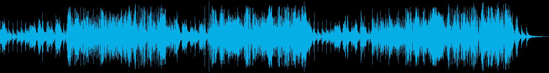 しみじみとした回想のバラードの再生済みの波形