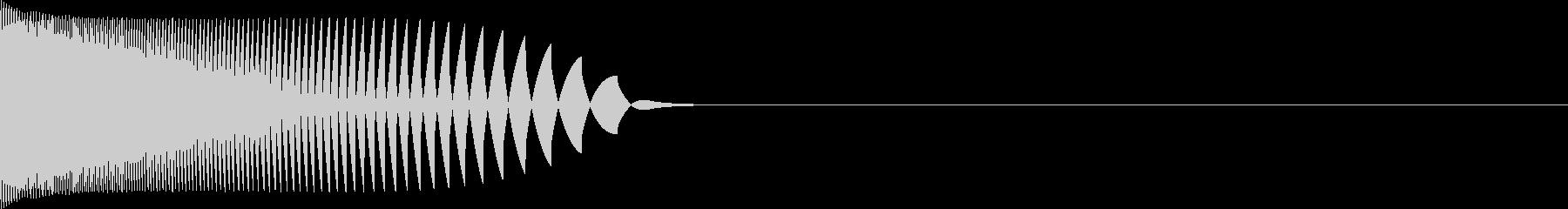 【チュン!】レーザー/ファミコン/レトロの未再生の波形