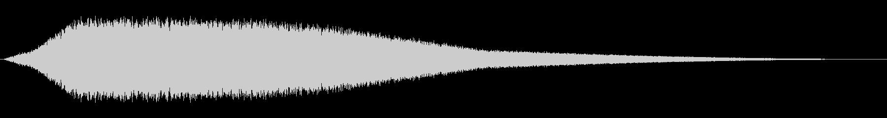 シューッという音EC07_81_1の未再生の波形
