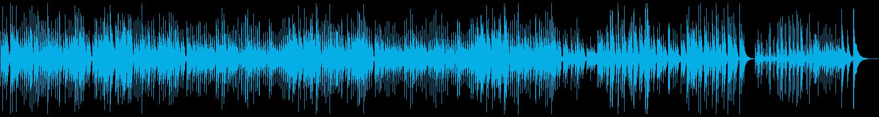 ショパン「ノクターン」ウクレレカバーの再生済みの波形
