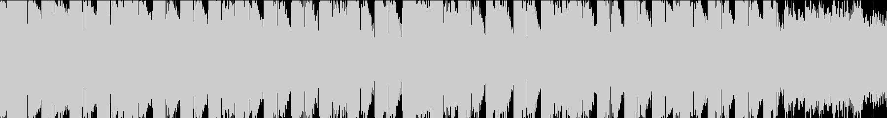 K-Popクラブ系ハードなEDMループLの未再生の波形