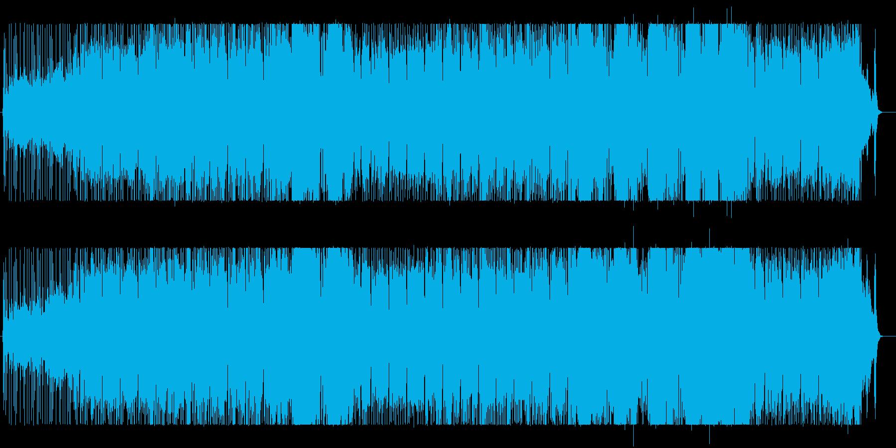 重いロックビートで。の再生済みの波形