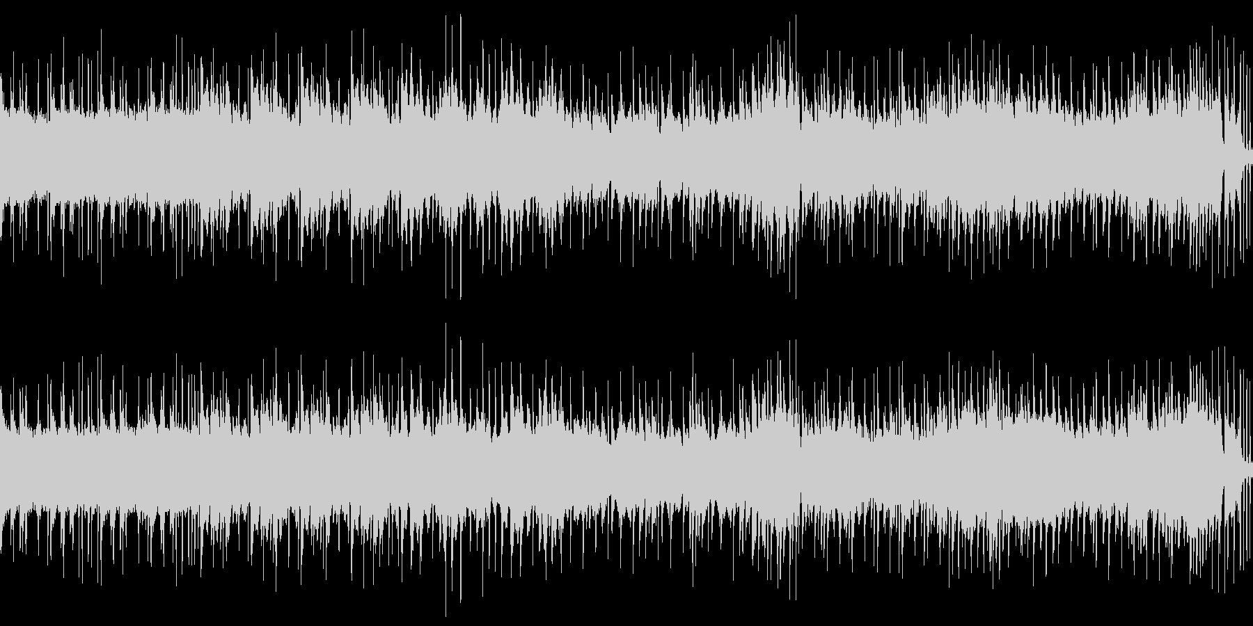 8bit 勇壮ポップファンタジー ループの未再生の波形