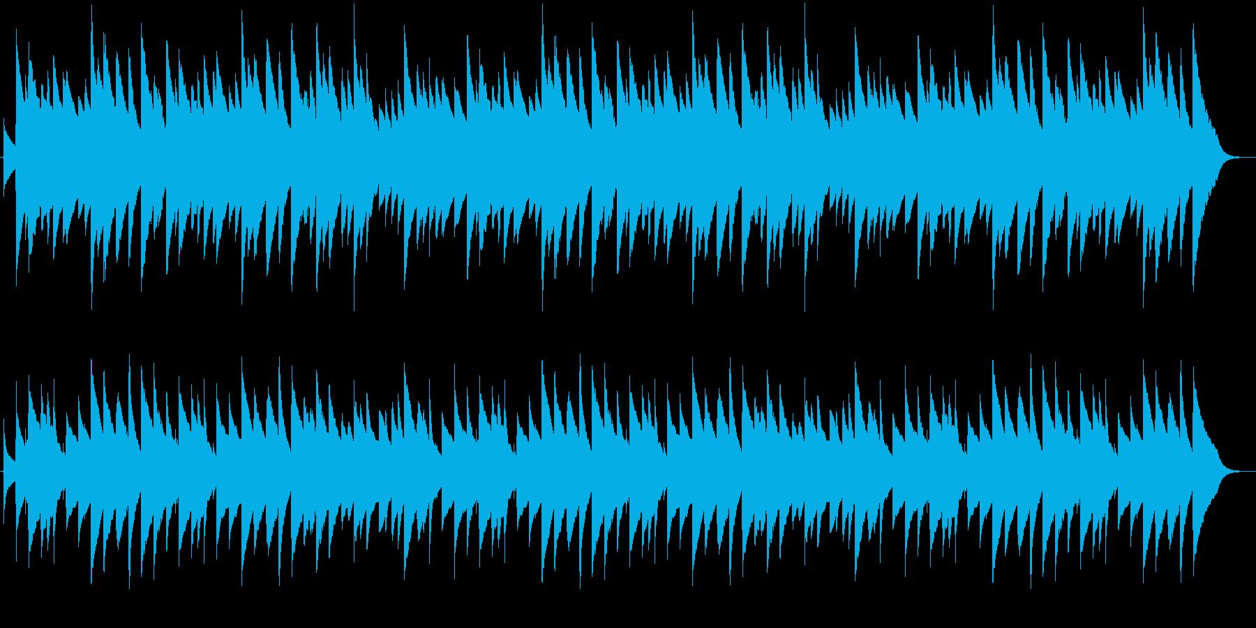 「もみの木」のオルゴールバージョンの再生済みの波形