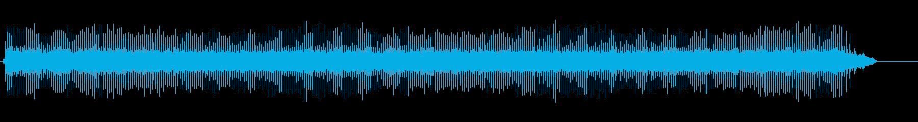自動折り機の再生済みの波形