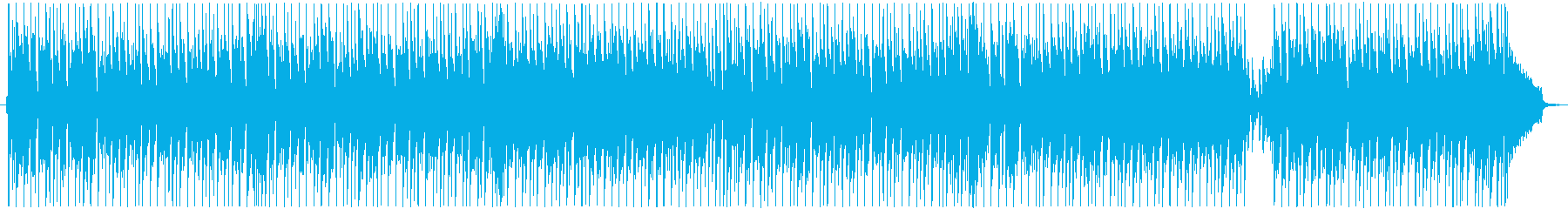 軽快でコミカル、楽しいBGMの再生済みの波形