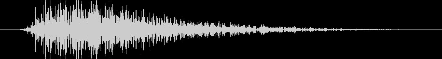 ヴァン(選択、決定時の効果音)の未再生の波形