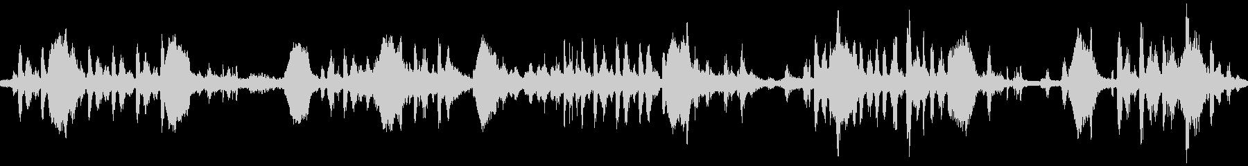 【環境音ループ仕様】朝の鳥の鳴き声01の未再生の波形