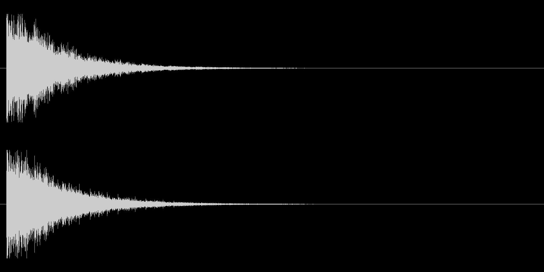 レーザー音-145-2の未再生の波形